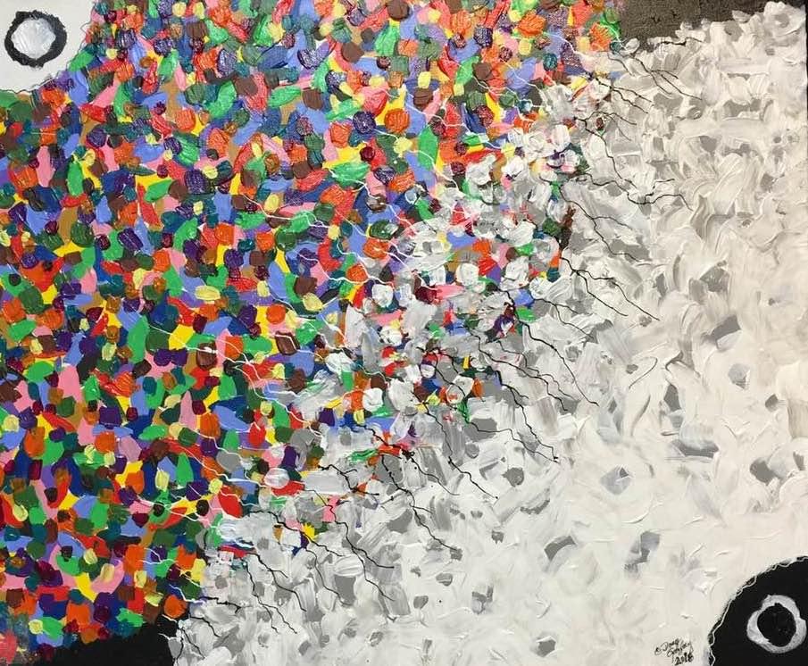 ALONE 2016- jigsaw puzzle- Doug Gazlay- DougPuzzles.com