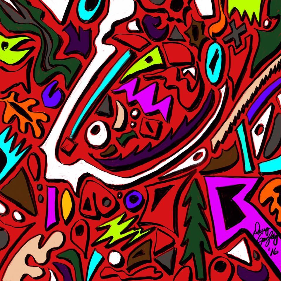 CHAOS 2016- jigsaw puzzle- Doug Gazlay- DougPuzzles.com