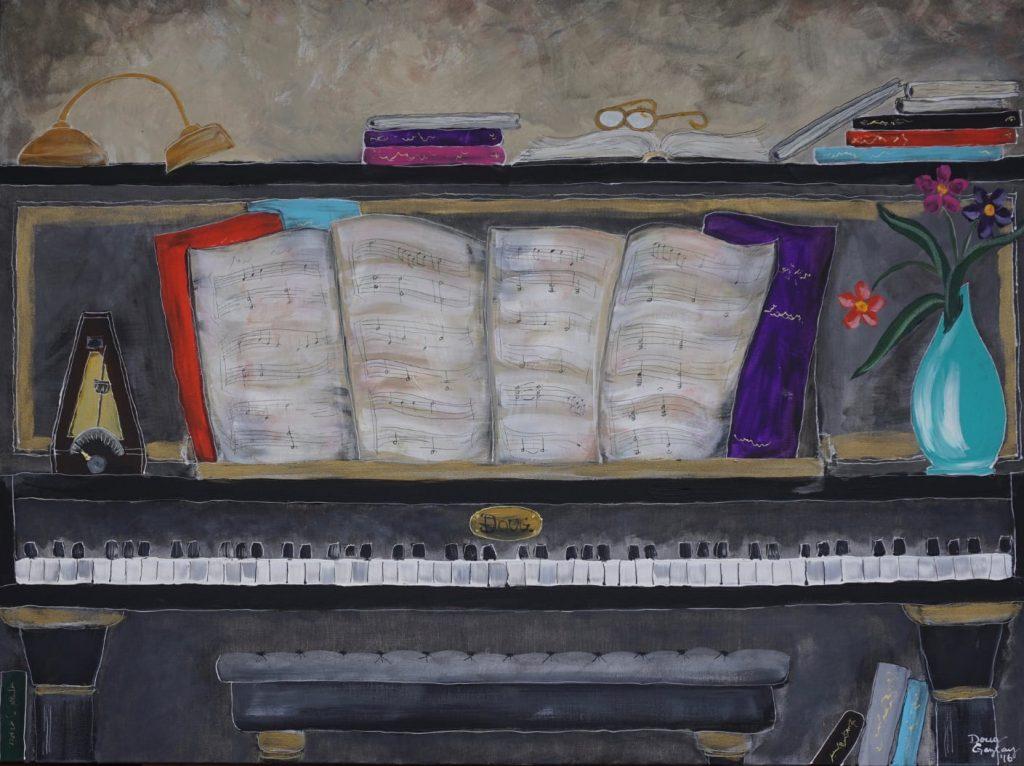 DOUG PIANO NO.1- jigsaw- Doug Gazlay- DougPuzzles.com