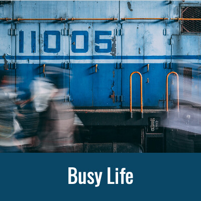BUSY LIFE Word Search- Doug Gazlay- DougPuazzles.com