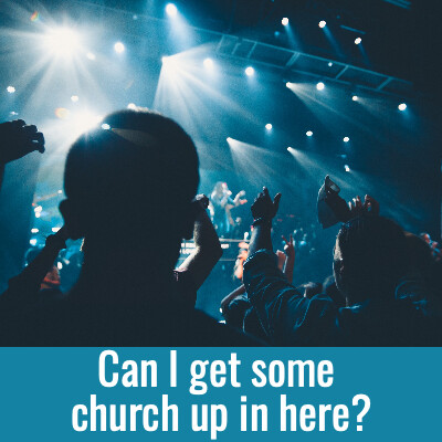 CAN I GET SOME CHURCH UP IN HERE Word Search- Doug Gazlay- DougPuzzles.com