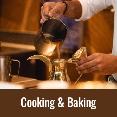 COOKING & BAKING Word Search- Doug Gazlay- DougPuzzles.com