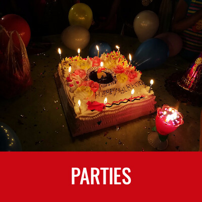 PARTIES Word Search- Doug Gazlay- DougPuzzles.com