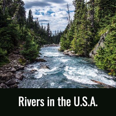RIVDERS IN THE U.S.A. Word Serarch- Doug Gazlay- DougPuzzles.com