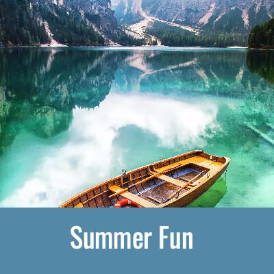 SUMMER FUN Word Search- Doug Gazlay- DougPuzzles.com