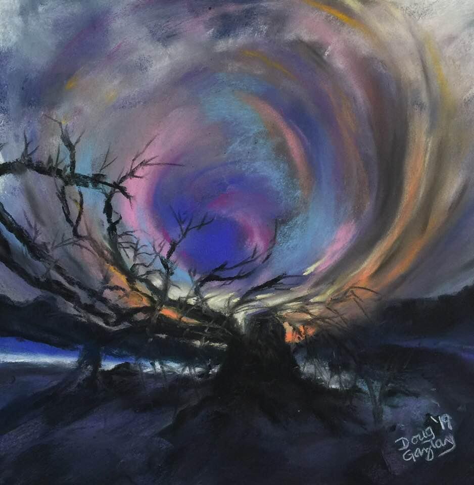 GHOST OF A TREE- 2019-jigsaw puzzle- Doug Gazlay- DougPuzzles.com