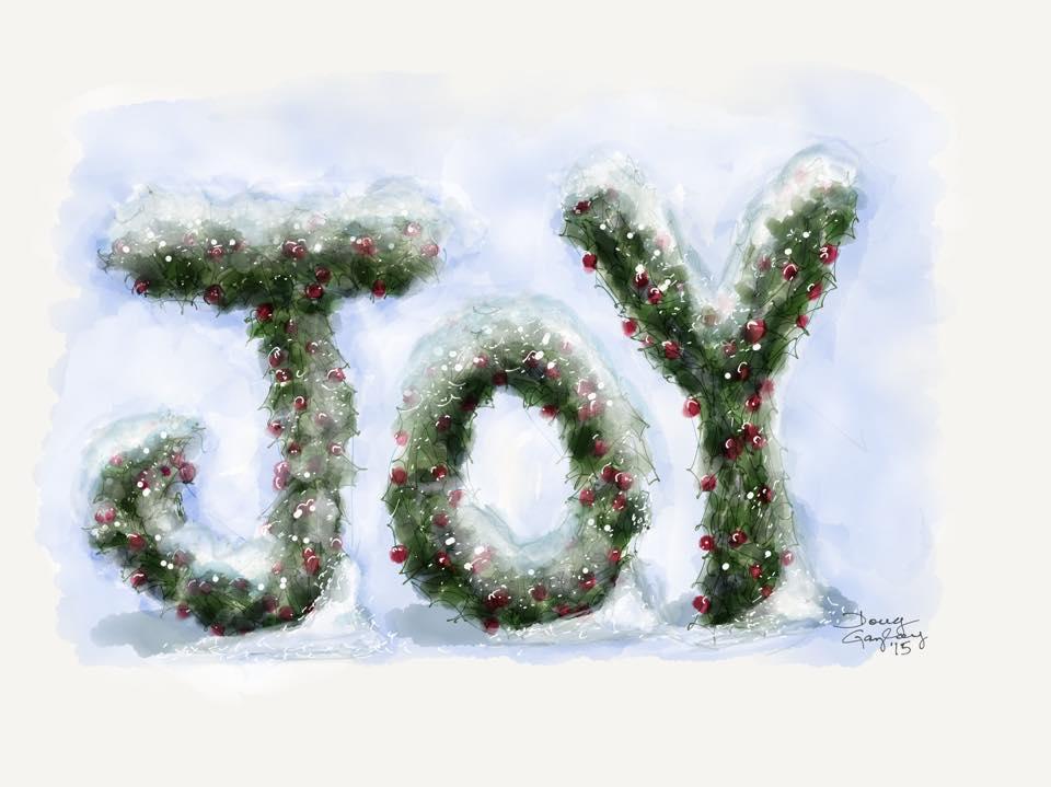 JOY 2015- jigsaw puzzle- Doug Gazlay- DougPuzzles.com