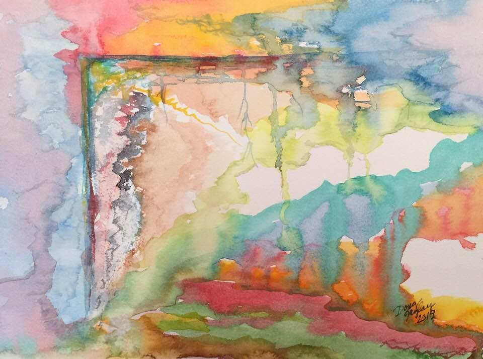 SHERBERT RAINBOW'S END MELTDOWN - 2019- jigsaw- Doug Gazlay- DougPuzzles.com