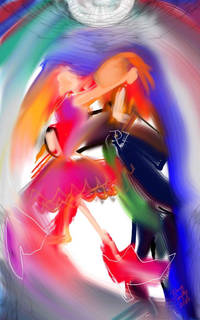 YOU SHOULD BE DANCING 2020- jigsaw puzzle- Doug Gazlay- DougPuzzles.com