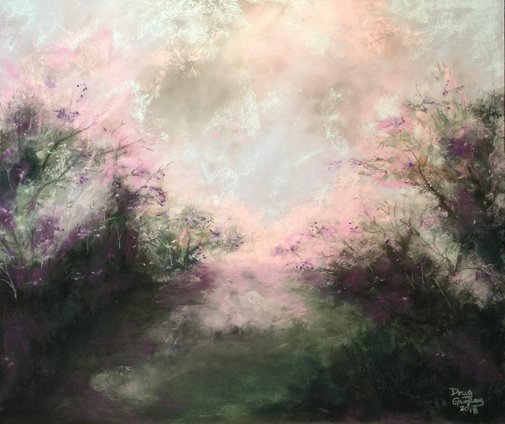 TREES IN THE MORNING FOG 2019- jigsaw puzzle- Doug Gazlay- DougPuzzles.com
