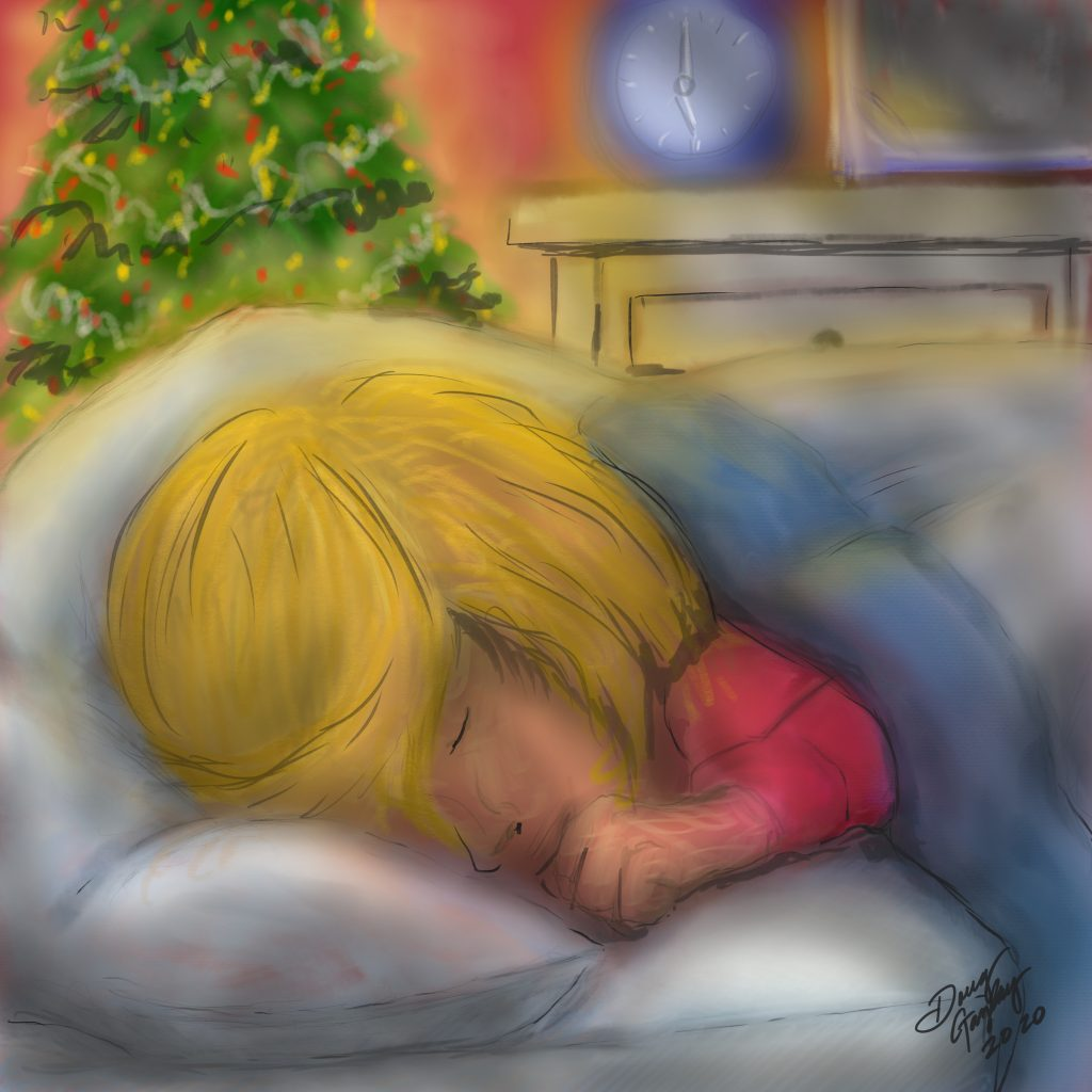 CHRISTMAS DREAMER 2020 jigsaw puzzle- Doug Gazlay - DougPuzzles.com