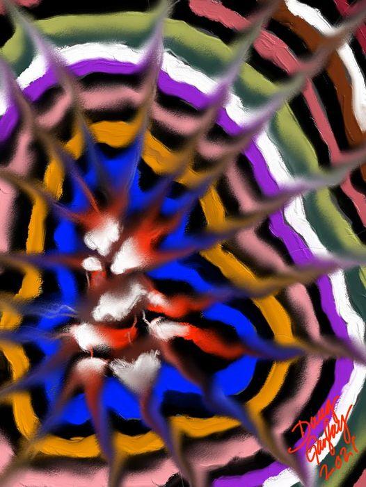 DOUG DOODLE 2021-1 - jigsaw puzzle- Doug Gazlay- DougPuzzles.com