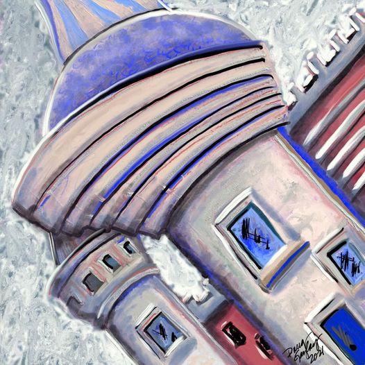 PALATIAL DOODLE 2021- jigsaw puzzle- Doug Gazlay- DougPuzzles.com