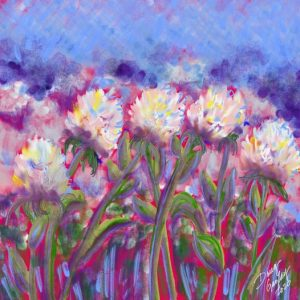 SEA OF FLOWERS 2020- jigsaw puzzle- Doug Gazlay -DougPuzzles.com