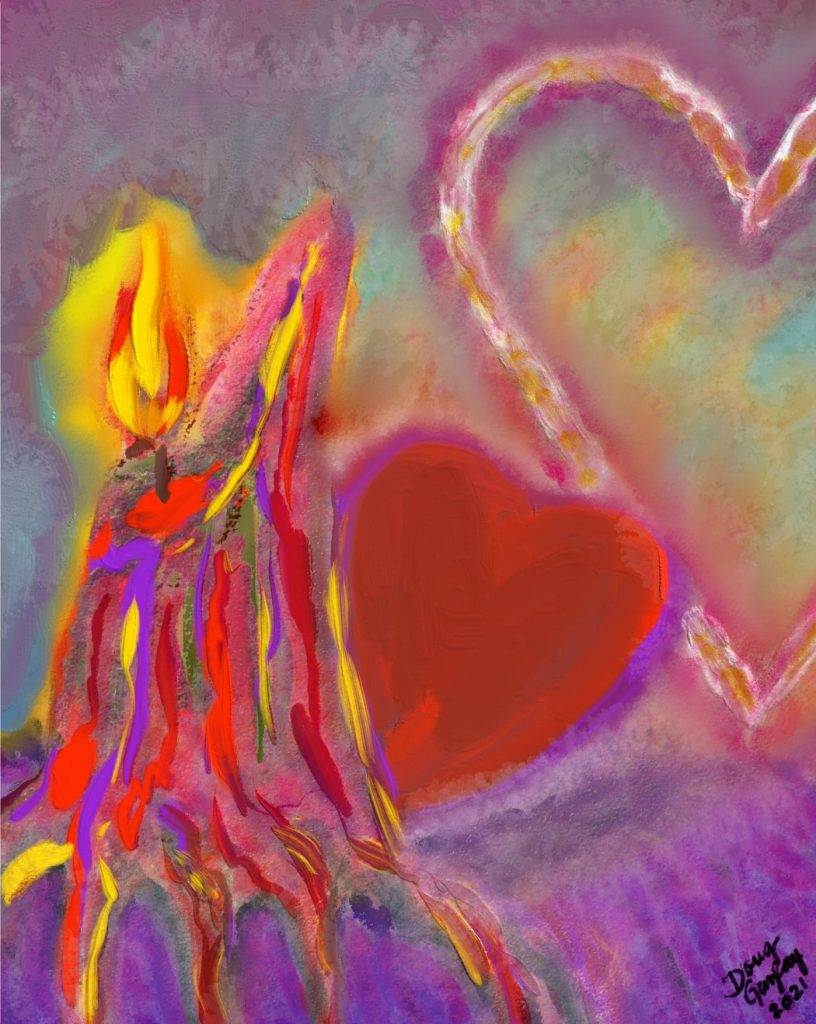 MELTING MY HEART 2021 - jigsaw puzzle- Doug Gazlay-DougPuzzles.com